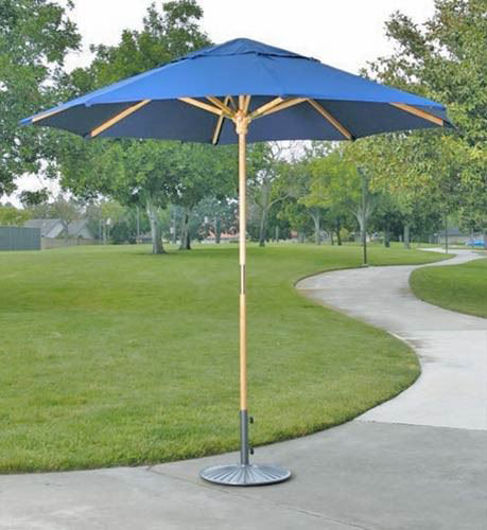 Picture of Dayva  9' Catalina Wood Market Umbrella