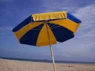 Picture of Fiberlite Fiberglass Beach Umbrella