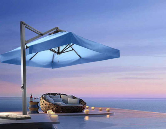 Picture of Retractable Tilting Umbrella